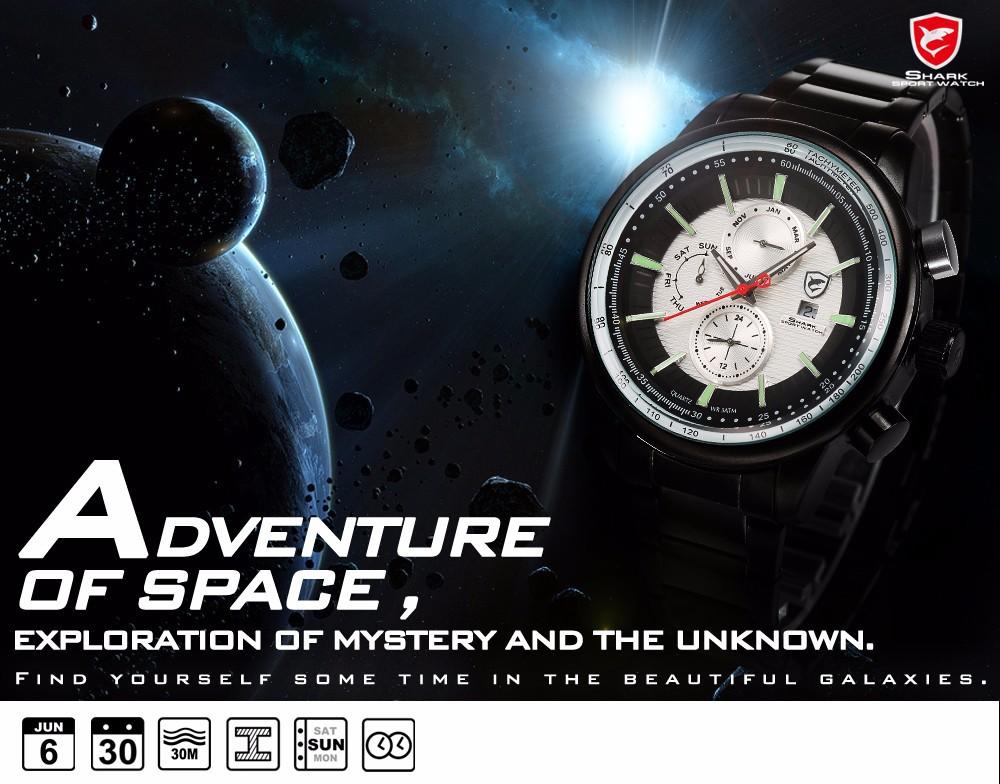HTB1Rj4JHpXXXXclapXXq6xXFXXXP - Gummy Shark Sport Watch - White /SH371