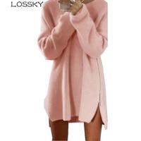 Large Sizes New Spring Autumn Fashion Women Casual Long Sleeve Irregular Sweater Loose Plus Size Female