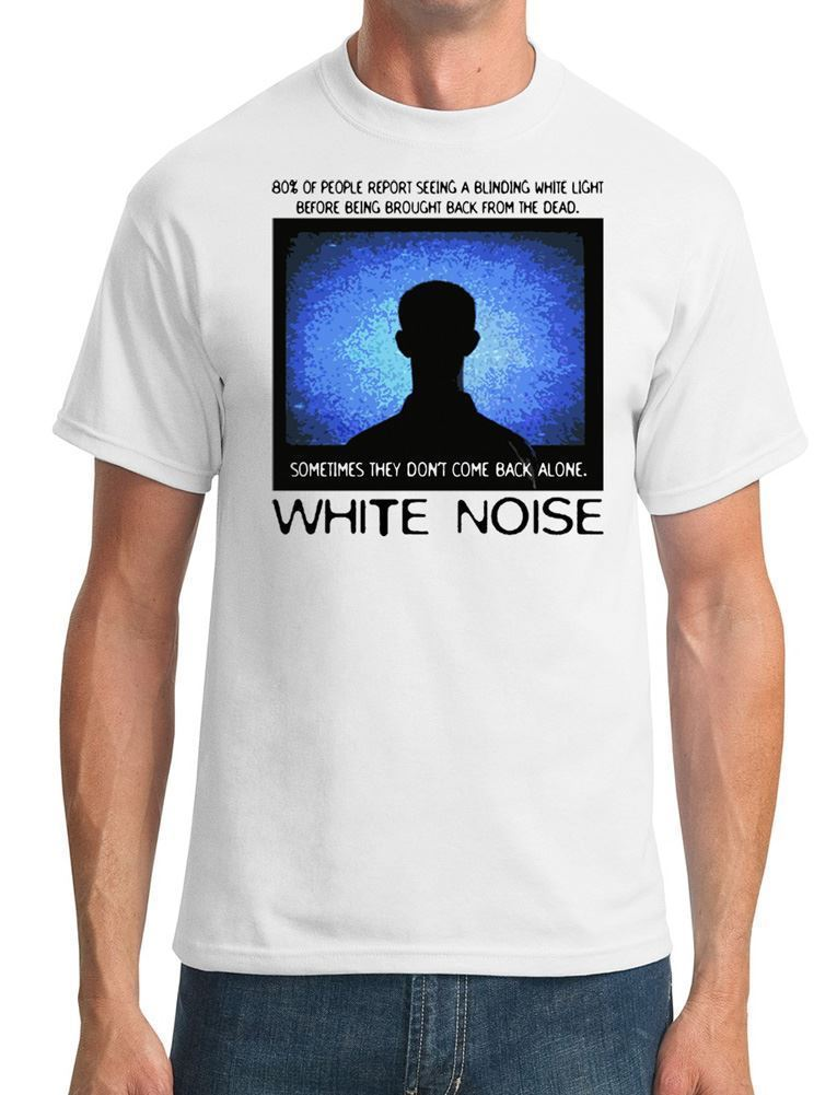 White Noise Paranormal Ghost Unexplained - Mens T-Shirt