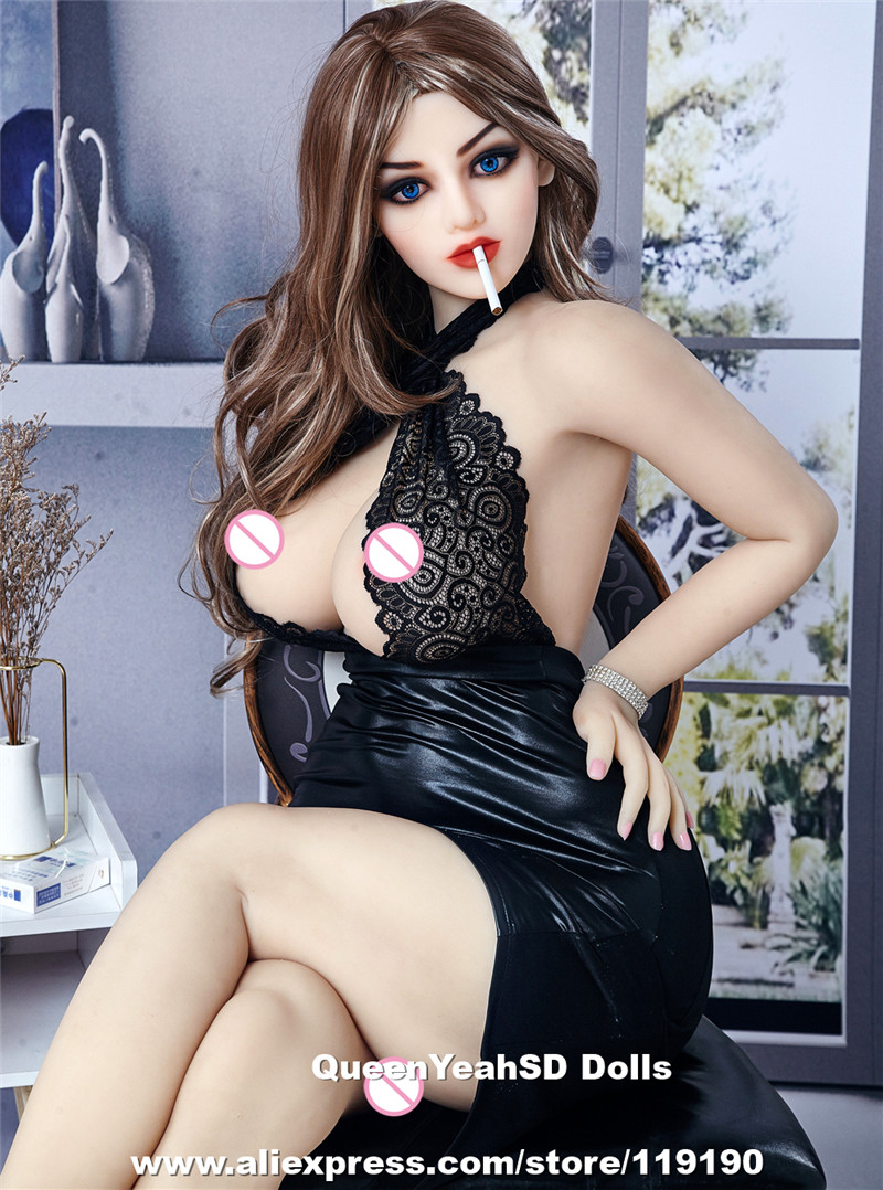 NEW <font><b>158cm</b></font> Huge Breast Real Silicone <font><b>Sex</b></font> <font><b>Dolls</b></font> Big Ass Metal Skeleton <font><b>Tpe</b></font> Adult Love <font><b>Doll</b></font> With Real Pussy Anal Oral Sexy image