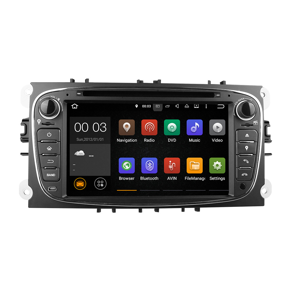 Free Shipping Android 5 1 Car DVD Player with GPS System For Ford Focus Mondeo C