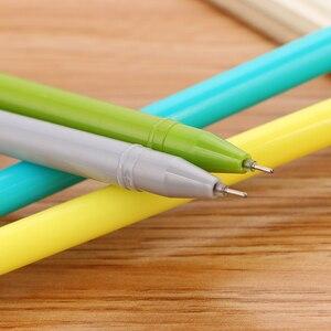 Image 4 - 100 adet yaratıcı kırtasiye kaktüs nötr kalem sevimli karikatür öğrenci iğne su kalem ofis malzemeleri İmza Kawaii kalem