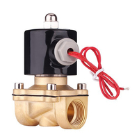 Brass Normal Close Water Air Fuels cessories Durable Solenoid Electric Pneumatic Thread 2W 200 20 220V NPT