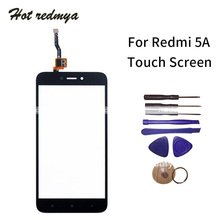 Touch screen For Xiaomi Redmi 5a 5A TouchScreen Sensor Front Glass Digitizer Outer Panel Replacement Spare Parts With Tools high quality gigabyte gsmart roma r2 capacitive touch screen digitizer front glass replacement touchscreen free shipping tools