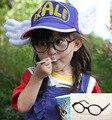 Unisex Doce Cor Crianças Cute Decoração Óculos Frames Novos Populares Do Bebê Crianças Óculos Armações de óculos Sem Lente
