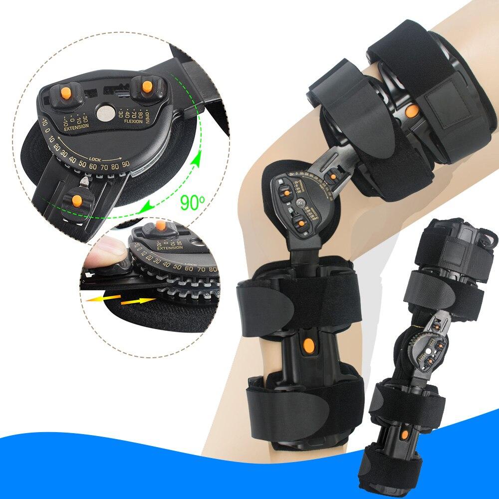 Регулируемый коленный медицинские ортопедические колено Поддержка