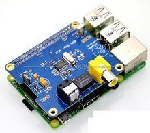 HIFI DiGi + dijital ses kartı I2S SPDIF Fiber optik RCA ahududu Pi 2 B +