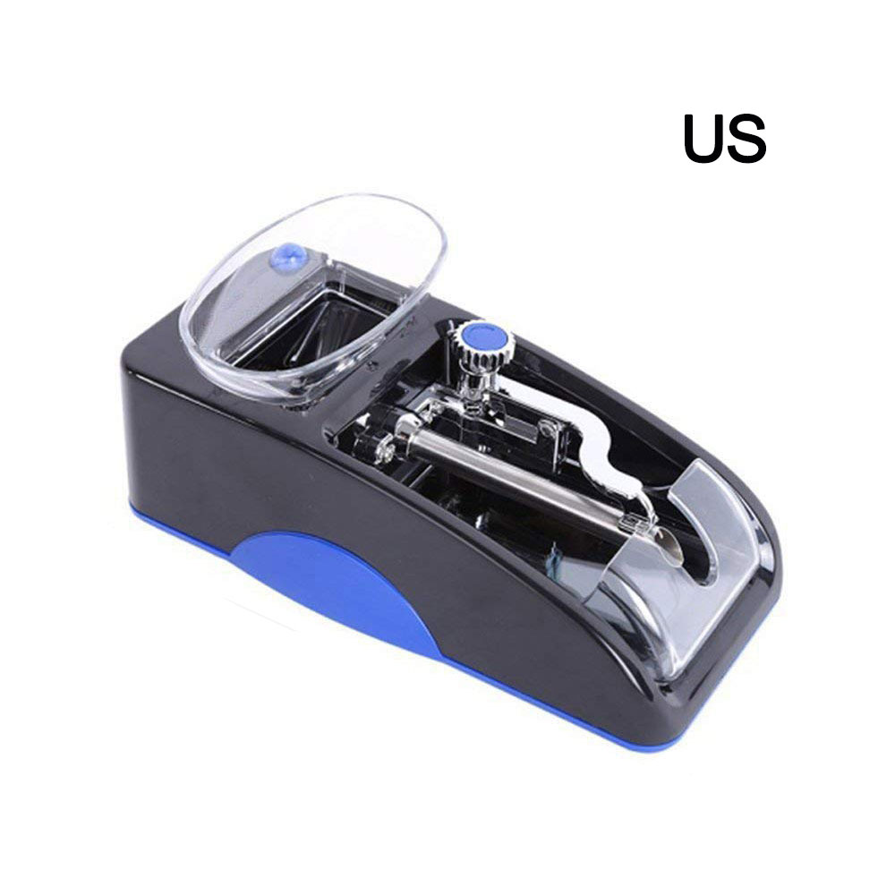 1pc Electric Easy Automatic Cigarette Rolling Machine Tobacco Injector Maker Roller Drop Shipping DIY tools with EU/US Plug