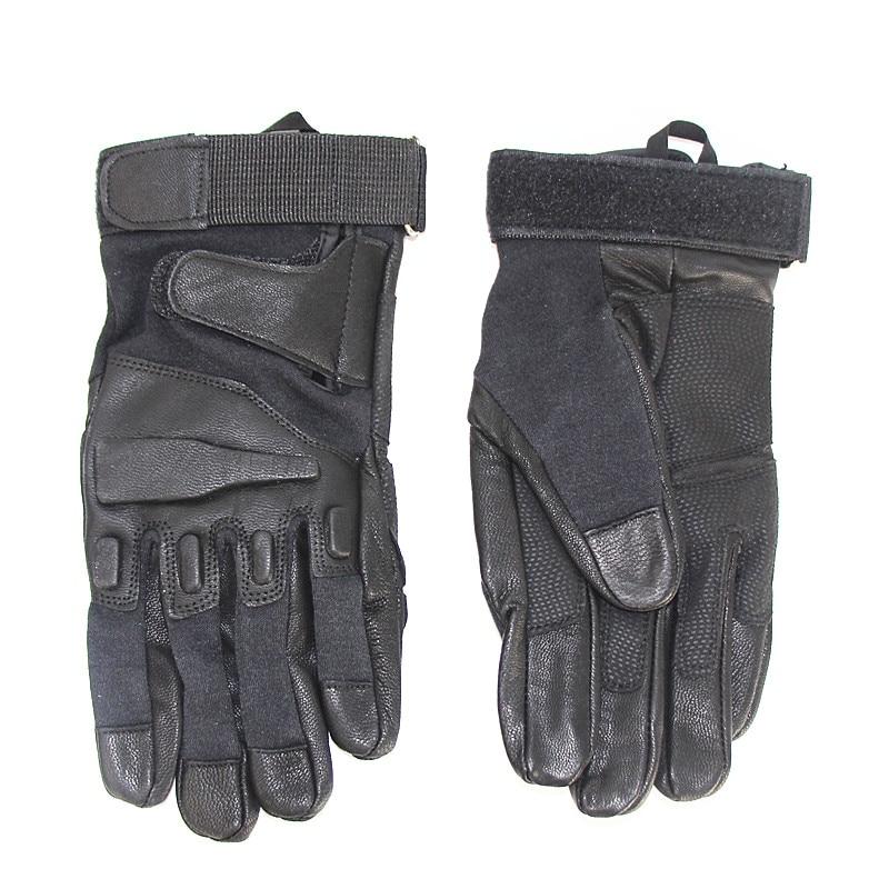 Tactique complet gants accessoires de chasse armée militaire en plein air randonnée Camping cyclisme Sport anti-dérapant complet doigt gants