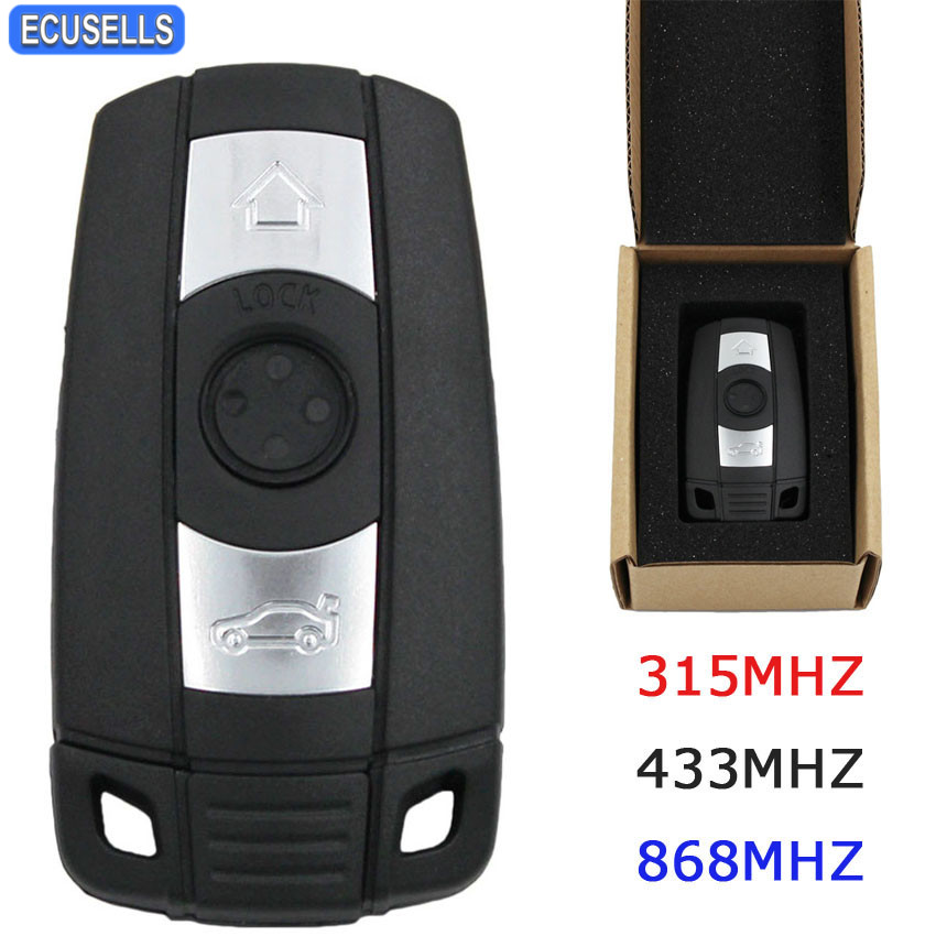 New Remote Key YH Style Smart Car Key Fob for BMW 3 5 Series E90 E70 E71 X5 X6 CAS2 CAS3 Anti theft System 315MHZ/433MHZ/868MHZ-in Car Key from Automobiles & Motorcycles    1
