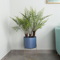 Artificial Trees Artificial Plant Potted Nordic Ginkgo Green Plant for Home Garden Office Decoration Fake Plant