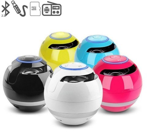 Mini Portable Ball Bluetooth Speakers with Soundbar