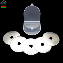 45MM 60MM Rotary Cutter Blades Knife Sewing Quilting SKS-7 Germany Material Fit Olfa Fiskars Cutter with Plastic Case