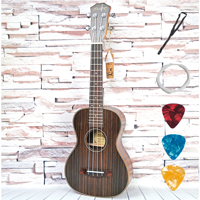 Concert Tenor Acoustic Electric Ordinary Ukulele 23 26 Inch Guitar Mahogany 4 Strings Ukelele Guitarra Handcraft Plug-in Uke aklot professional solid mahogany electric tenor ukulele starter kit soprano concert ukelele uke hawaii guitar 12 frets 21 inch