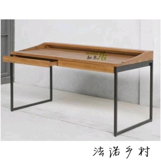 nordic bois de meubles americains table de la console en fer forge bureau bureau ordinateur de bureau ordinateur de bureau fer forge sur mesure
