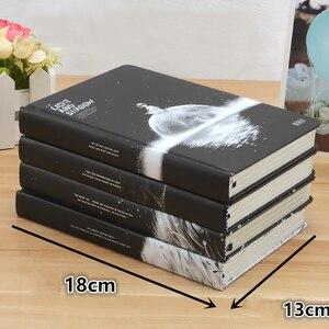 Image 2 - Carnet de notes, couverture rigide ombre et lumière, Pages colorées, agenda agenda, Vintage, papeterie scolaire et de bureau, cadeau