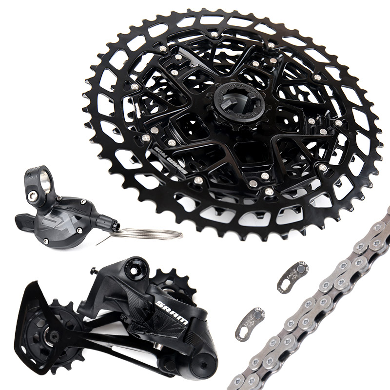 2019 NEW SRAM SX EAGLE 1x12 11-50T 12 speed MTB Groupset Kit Trigger Shifter Derailleur Chain with NX EAGLE cassette
