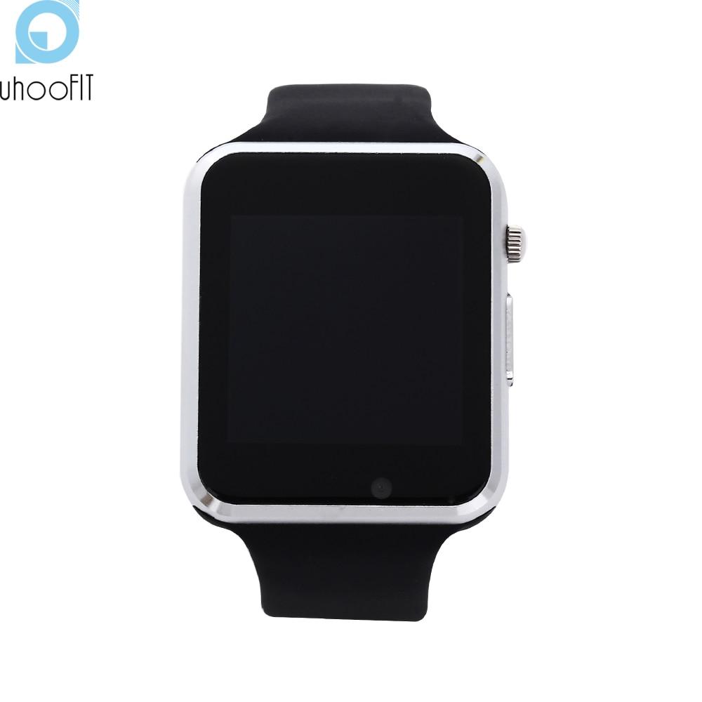 imágenes para Bluetooth reloj Inteligente Recordatorio de Llamada Deporte Podómetro Sleep Tracker Con TF Cámara U8 Smartwatch Para Android teléfono pk DZ09 GV18