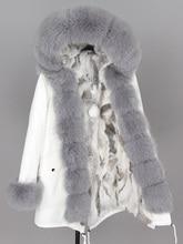 Maomaokong 2020 女性の冬の毛皮のジャケット白綿ジャケット冬の女性の毛皮ジャケット公園