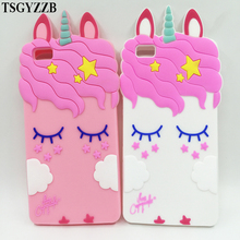 For Huawei P8 Lite Case Cover Cartoon Unicorn Soft Silicone Phone Back Cover Protective Case For Huawei P10 P9 Lite 2017 Fundas все цены