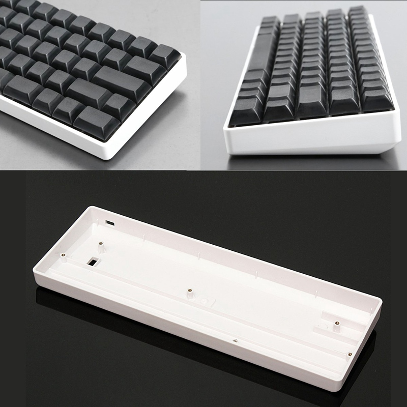 Mini Keyboard 60% Mechanical Gaming Keyboard Base Seat Plastic Protective Case Frame For GH60 For POKER2 For FACEU