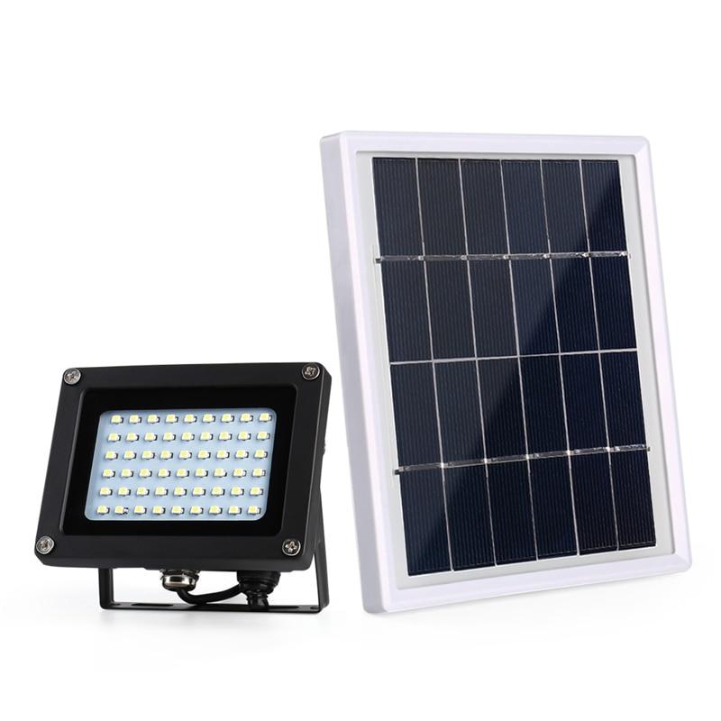 Billboard Solar Floodlight Outdoor Emergency Flood Light 54 LEDs Dark Sensor Solar Light Solar Lamp Light Spotlight Wall Lamps