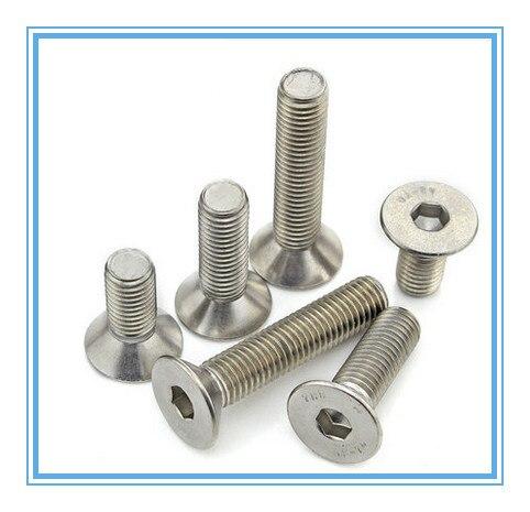 10PCS M10*80  M10X80 10MM*80  Socket Flat /countersunk head bolt /screw DIN7991 ,stainless steel 304 ,A2-70,18-8 Fasteners 20pcs m3 6 m3 x 6mm aluminum anodized hex socket button head screw