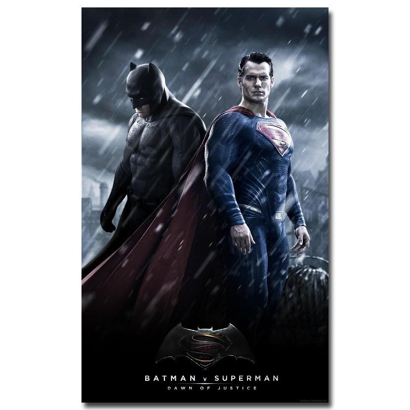Superman Superhero Motivational Quote Silk Fabric Poster 13x20 24x36 inch
