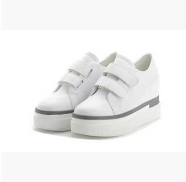 2017 Новая Коллекция Весна Увеличение Шоссе Женщины Случайный Сдобы Женщины Плоские Летние Обуви Дам Schoenen Sapatilha Feminina Chaussures Femme