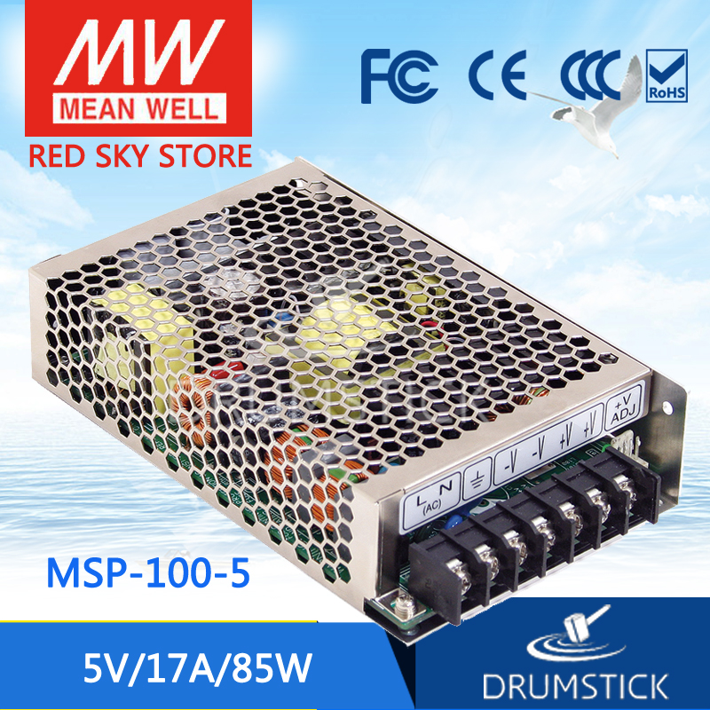 Advantages MEAN WELL original MSP-100-5 5V 17A meanwell MSP-100 5V 85W Single Output Medical Type Power Supply 100% original mean well msp 100 36 36v 2 9a meanwell msp 100 36v 104 4w single output medical type power supply