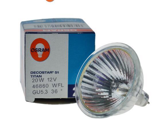 OSRAM 46860WFL 12V20W GU5.3 36 degree bulb,46860 WFL 12V 20W DECOSTAR 51 TITAN halogen lampOSRAM 46860WFL 12V20W GU5.3 36 degree bulb,46860 WFL 12V 20W DECOSTAR 51 TITAN halogen lamp