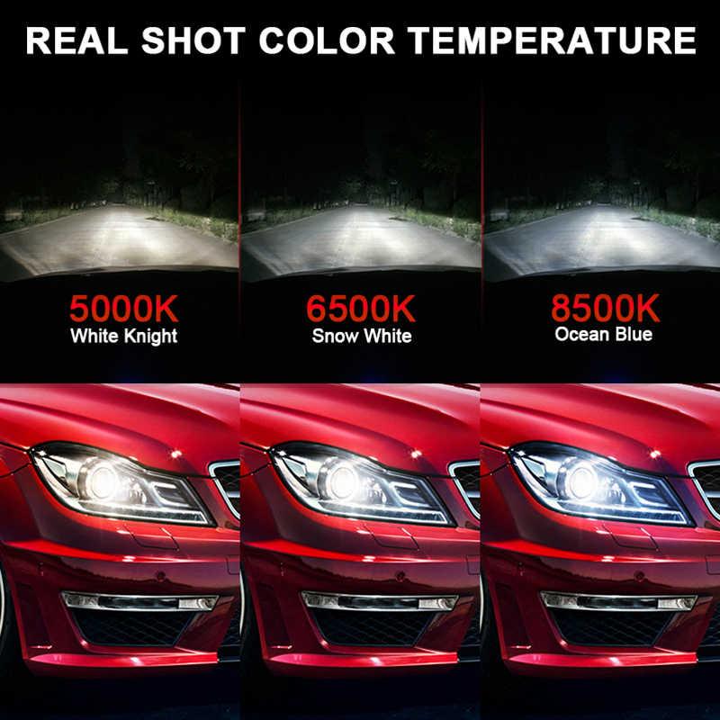 HLXG H7 LED H4 H1 H11 9005 HB3 9006 HB4 LED Headlight 5000K 6500K 8500K 12V 24V 10000LM Mini Lamp car LED Bulb Light motorcycle