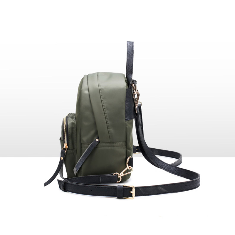 2018 Waterproof Oxford Rucksack Women Small Backpack Green Camouflage School Bags for Teenage Girls Casual Trave Back Pack Bag