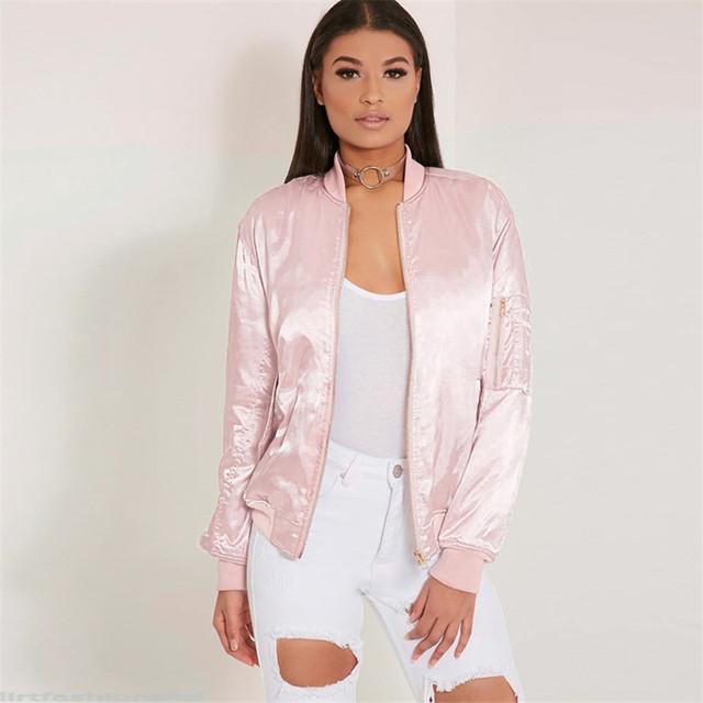 Women's Trendy Bomber Jacket