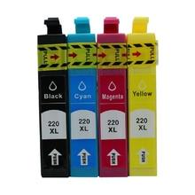 einkshop 220 220XL Ink Cartridge for Epson T2201 - T2204 WorkForce WF-2630 WF-2650 WF-2660 XP-220 XP-320 XP-324 XP-420 XP-424