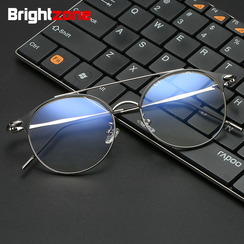 Brightzone Unisex UV Headache Digital Eye Strain Blue Light Blocking Glasses Gamer and Computer Eyewear Filter Artificial Light blue light blocking glasses