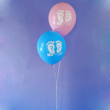 10pcs 12 He or She balloons gender reveal decorations what will baby be