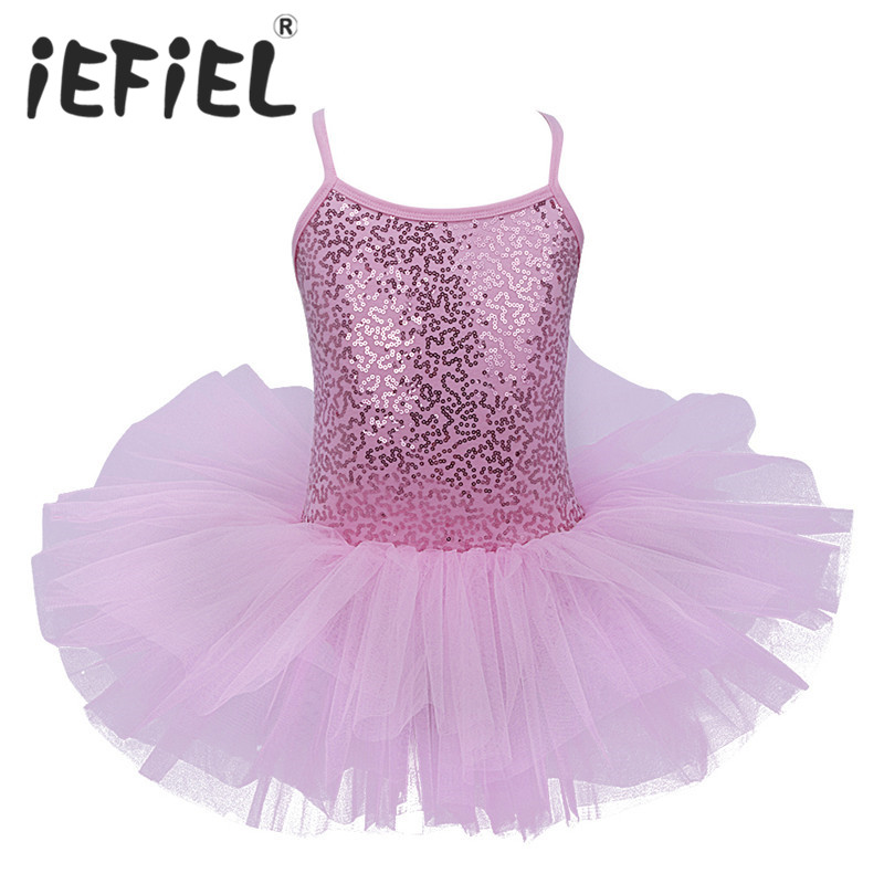 iEFiEL Kids Girls Ballet Dress Baby Children Cosplay Tutu Flower Dress Tulle Dancewear Clothing Ballerina Fairy Party Costumes(China)