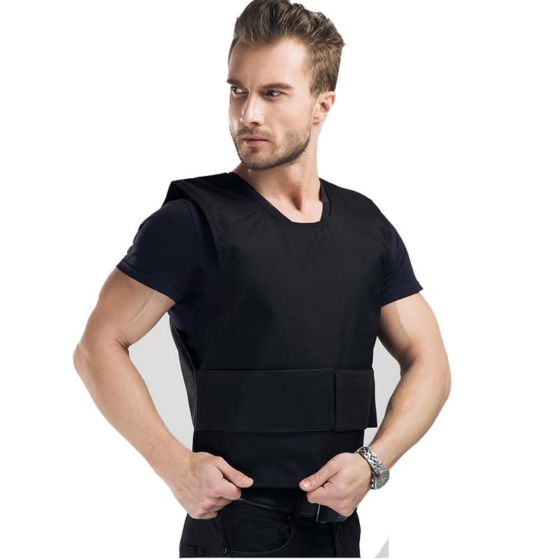 Super 4 Story Stab Resistant Vest Lightweight Soft For Police Use O-neck Covert Schutzweste Tatico Self-defense Anti Stab Vest