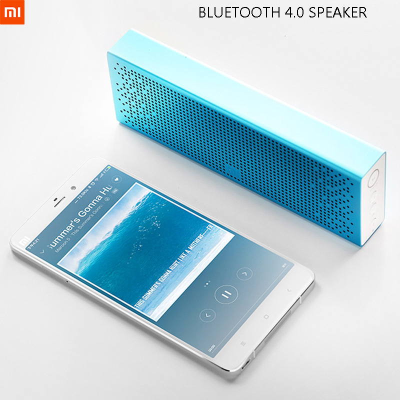 Original Xiaomi Wireless Bluetooth 4.0 Speaker Mini MP3 Player Pocket Audio Handsfree call SD TF Card Aux-in Speakers For Iphone