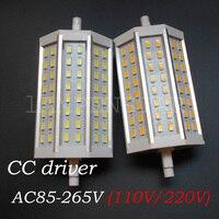 R7S светодиодный лампы 10 W SMD5730 светодиодный R7S 118 мм J118 Светодиодный лампочки заменить галогенные прожектора