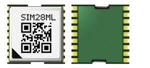 Image 2 - Free Shipping 10PCS/LOT SIMCOM SIM28ML GPS Module SBAS ranging 100% New original Genuine Distributor   JINYUSHI stock