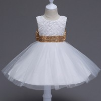 Flower Girls Dress Na Wesela Pierwsza Komunia Święta Suknie Dla Dziewczyn Kids Party Wear Sukienka Dziewczyny Koronki Lato Dzieci Odzież