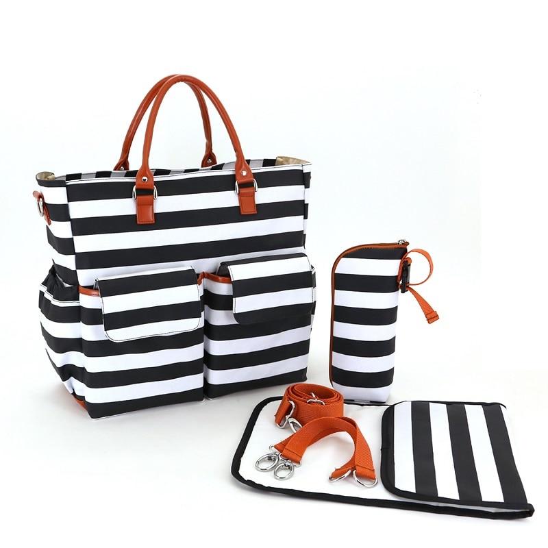 2017 Brand Large Diaper Bag Organizer Diapers Fashion Nappy Bags Maternity Bags Baby Mummy Handbag Shoulder