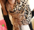 2016 Новый стиль высокая - класс бархат размер шифон леопарда зерна точка оптовая продажа женская шерстяной шарф бесплатная доставка