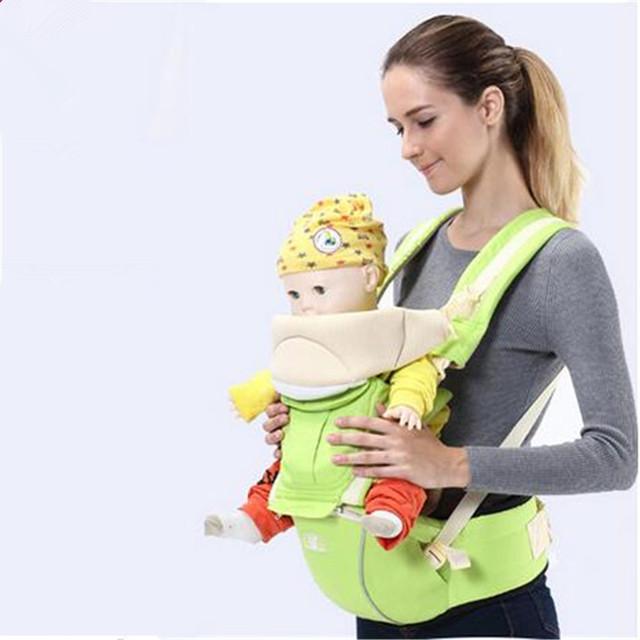 Sela Transporte Mochila Estilingue Do Bebê Multifuncional Bebê Infantil Orgânico Atividade Bebê Criança Envoltório Canguru Mochilas Carriers