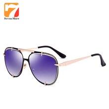 2017 Steampunk Mens gafas de Sol Mujeres Diseñador de la Marca de Gran Tamaño Gafas de Sol de Espejo Para Hombre Gafas gafas de Sol Hombres Lunette de Soleil