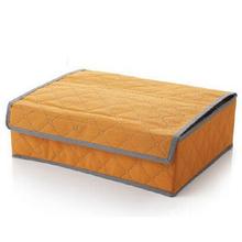 Non-woven Underwear storage box sets of multi-functional socks bra tie drawer partition box Home Organizer 24 Cells Storage Bag