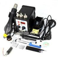 8586 Multifunction Hot Air Rework Station Soldering Station Welding Accessories Digital Display 110 220V 700W For