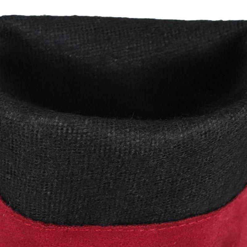 Talons Taille Genou Plate De Le À Chaussures rouge Noir Femmes Coolcept Suède forme 44 34 Cuissardes Sur marron Bottes Hauts Chaud Mode gwxqwFfIa
